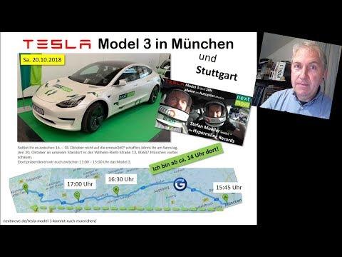 Tesal Model 3 in München, Tesla hat auch ein Dieselgate, Börse, Fischstäbchen (NEWS 2018 KW42/2018)