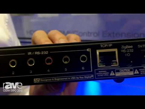 CEDIA 2015: Key Digital Introduces Compass Controll KD-MC1000 Master Controller with ZigBee