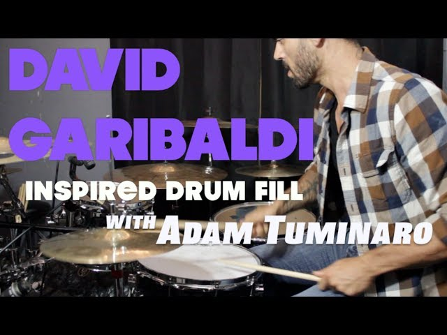 Killer Gospel Lick (Garibaldi Pattern) - Drum Lesson with Adam Tuminaro