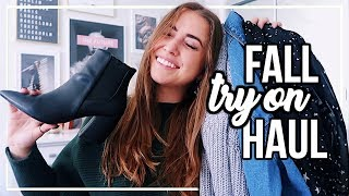 AFFORDABLE FALL TRY-ON CLOTHING HAUL! ft. NastyGal & Lulus | 2018