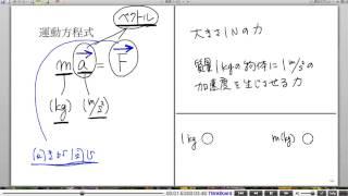 高校物理解説講義:「運動方程式」講義6