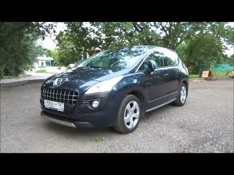 2012 Peugeot 3008. Start Up. Engine. and In Depth Tour.