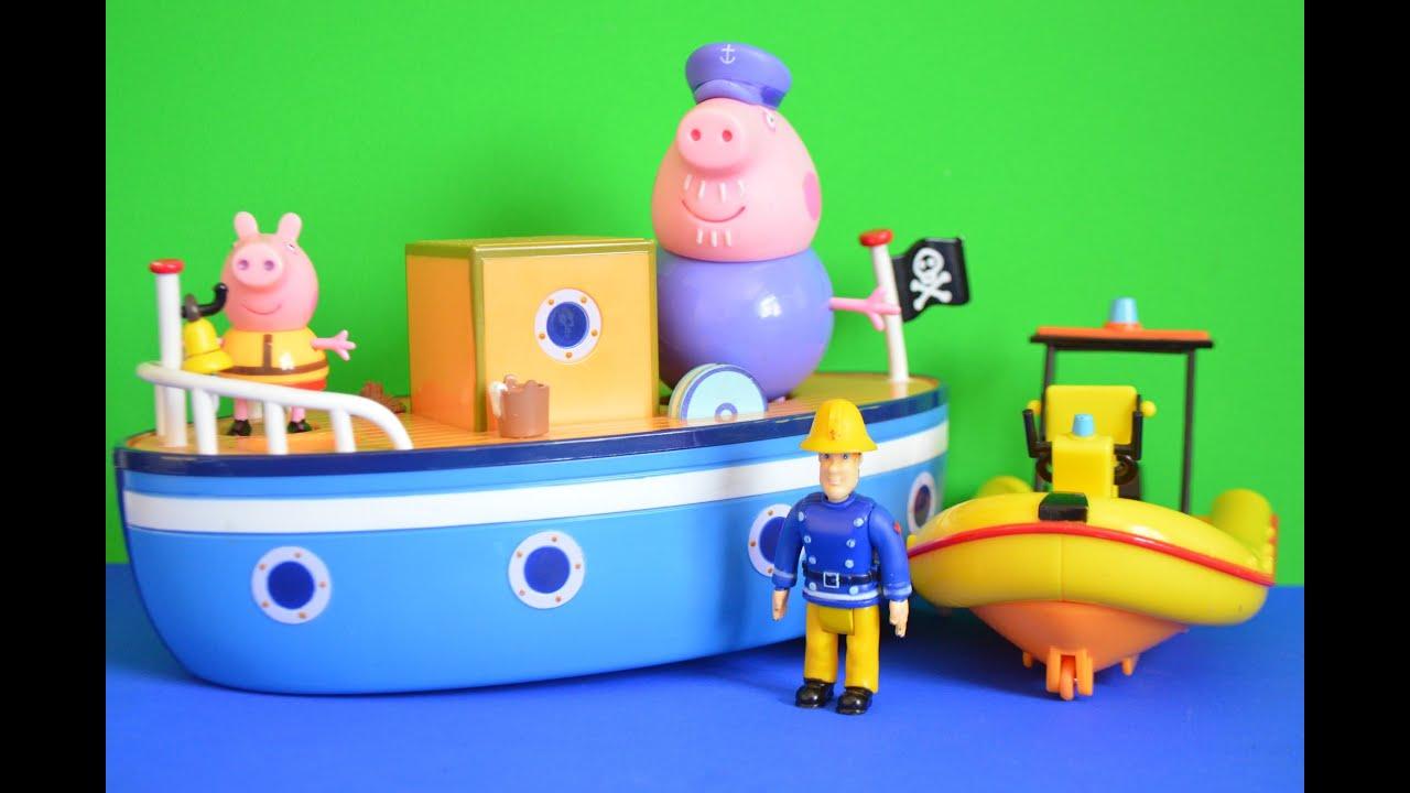 Fireman Sam Toys Neptune Boat Boat Fireman Sam Neptune