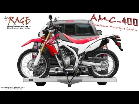 AMC-400 Aluminum Motorcycle Carrier Assembly