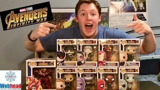 Avengers Infinity War Funko Pop Unboxing and Review! | Webhead