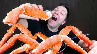 King Crab Legs • My First Time • MUKBANG