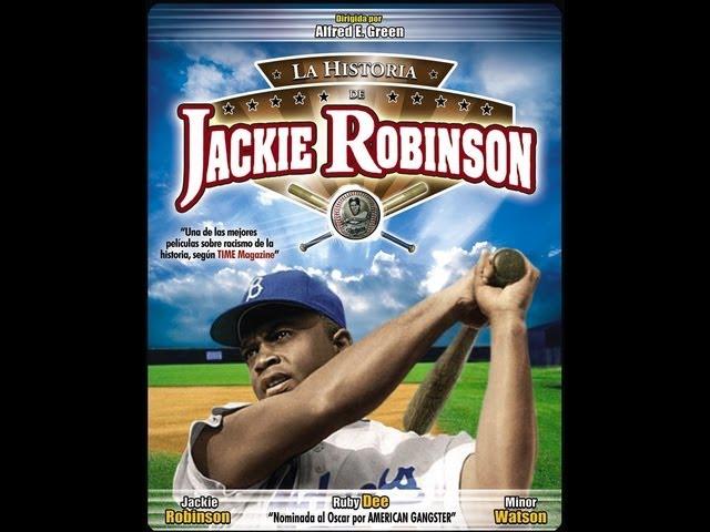 LA HISTORIA DE JACKIE ROBINSON (The Jackie Robinson Story, 1950, Full Movie, Spanish,Cinetel)