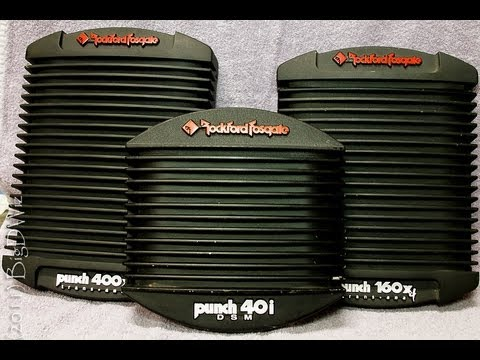 Rockford Fosgate Punch 40i DSM Amp - Sound Quality Test - 1080p