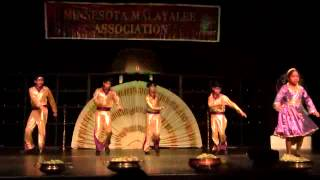 MMA Onam 2012 - I am  a disco dancer