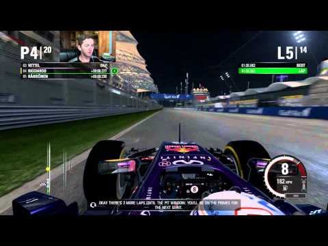 F1 2015 [PS4] - Round 4/19 [Bahrain Grand Prix]
