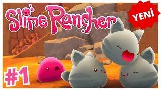 Dünyanın En Şirin Oyunu  :)    - Slime Rancher Türkçe - Bölüm 1