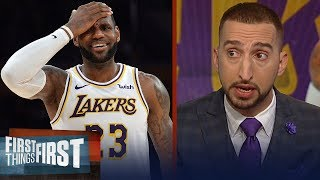 Cris and Nick weigh in on LeBron, Lakers officially missing the playoffs | NBA | FIRST THINGS FIRST