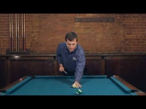 How to Make a Draw Shot   Pool Trick Shots
