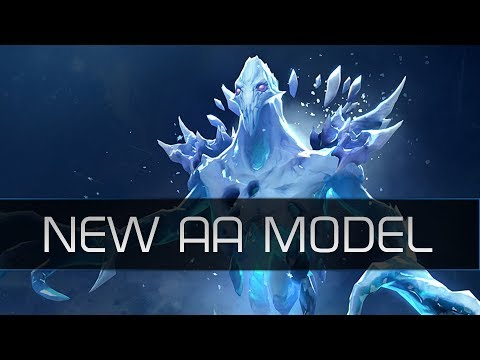 Dota 2 New Ancient Apparition Model - Patch 7.07