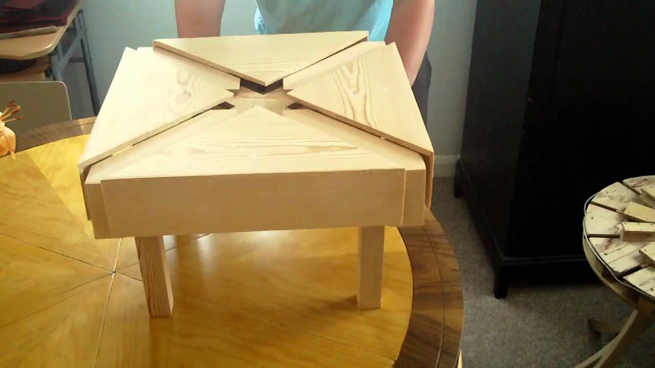 Expanding Square Table Part 5 Youtube