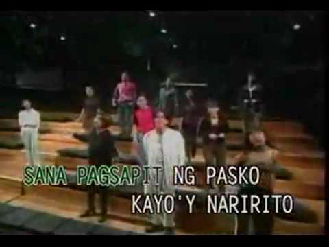 Youtube- Sa Araw Ng Pasko - Videoke-karaoke-minus One.mp4 video