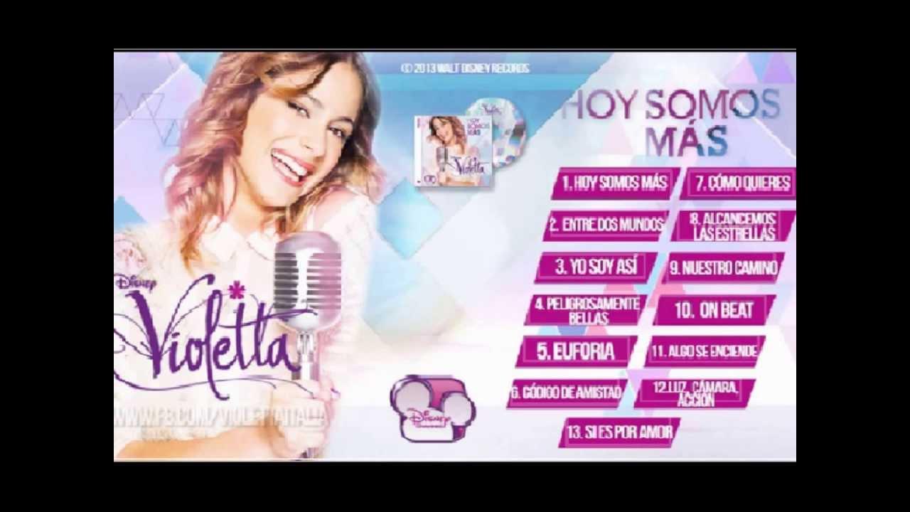 Segundo Cd De Violetta Descargar Download