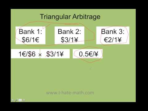 Triangular Arbitrage Step by step (super easy numbers to understand)