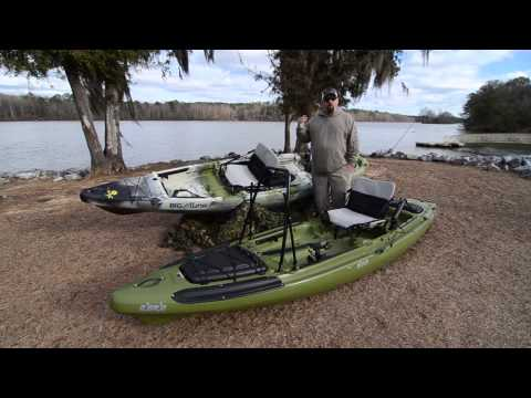 Jackson Kayak Big Tuna and Big Rig Comparison