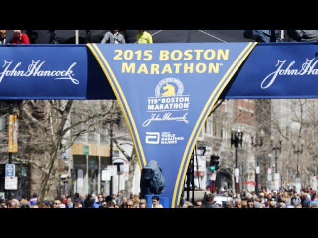 Heavy police presence for 2015 Boston Marathon
