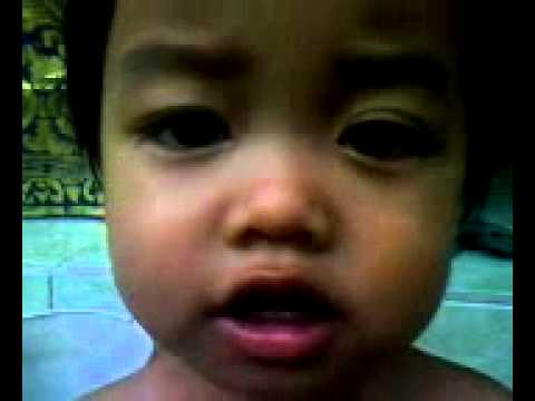 Funny Asian Baby Singing An English Song Part Ii.3gp video