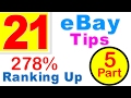 Ranking your eBay listings high in eBay search results | eBay SEO | part 5