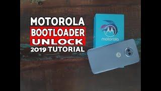 How to:Motorola Bootloader Unlock 2019 Tutorial