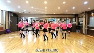 Cupid Shuffle Ultra Beginner Line Dance