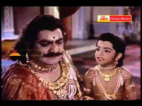 Bhaktha Prahlada Telugu Movie Part -19(s V Ranga Rao, Anjali Devi, Roja Ramani) video
