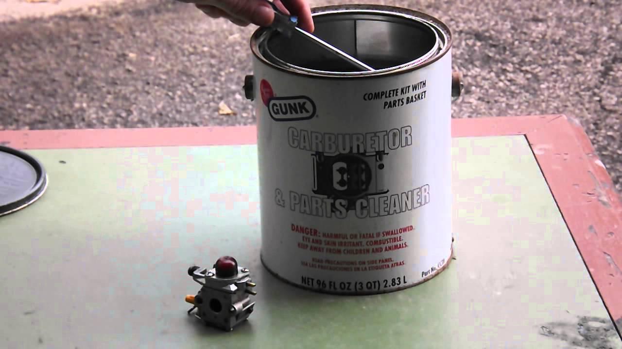 how to clean my carburetor