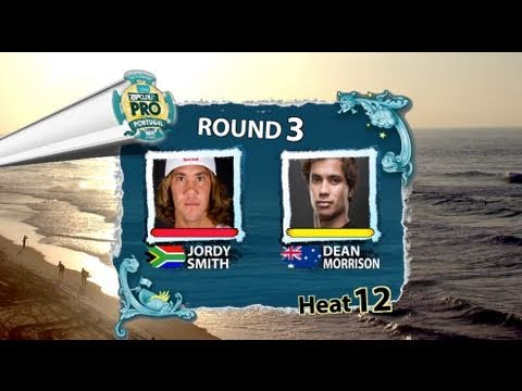 RD3 H12 - Jordy Smith vs Dean Morrison