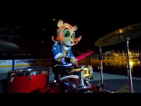 """лео-барабанщик: соло на льду в поддержку ХК """"Сочи"""" в плей-офф"""