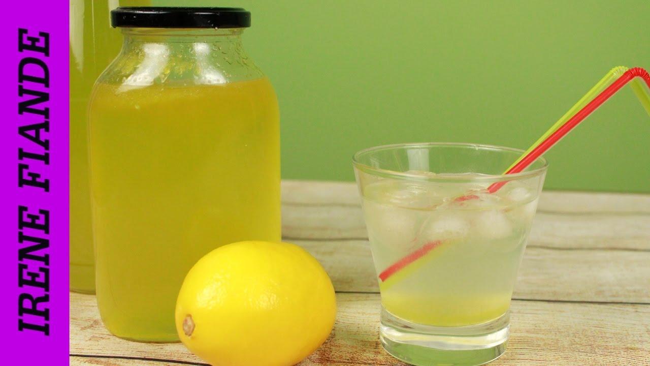 Как сделать из лимона освежающий напиток 103