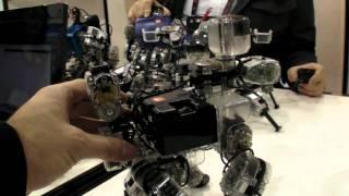 Thumb Robo Builder: Equipo completo para construir Robots