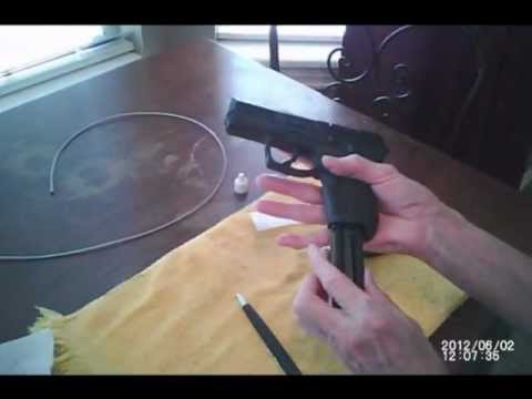 Ruger SR-22 Handgun  Takedown and Cleaning.wmv