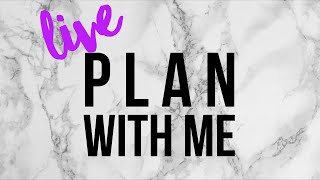 🔴 LIVE Plan With Me | Erin Condren Horizontal