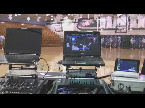 Me getting ready for a school dance at Azle High School In Azle Texas - DJ Gig Log 01-09-2010.wmv