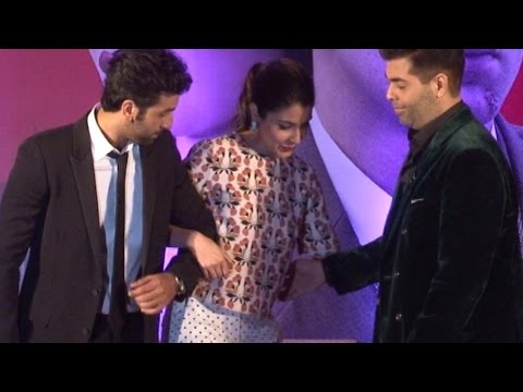 Ranbir Kapoor, Anushka Sharma, Karan Johar's Fun Moments At Bombay Velvet Trailer Launch
