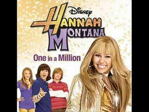 One In A Million (karaoke instrumental) - Hannah Montana video