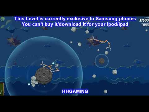 Angry Birds Space Walkthrough 4-1 3 stars Walkthrough world level guide how to get three star