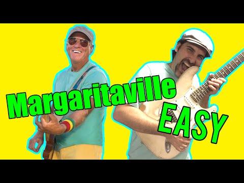 How To Play - Margaritaville - Jimmy Buffett - Acoustic Guitar Lesson - Beginner Song