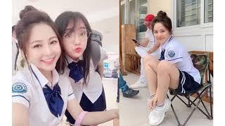 Hot girl Trâm Anh lộ clip mới