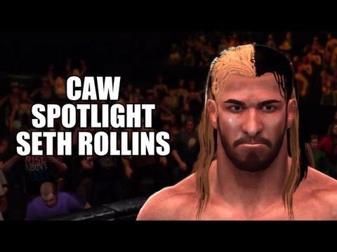 WWE 13 - CAW Spotlight: Seth Rollins (The Shield) By 'DR VRIES' (Xbox 360)