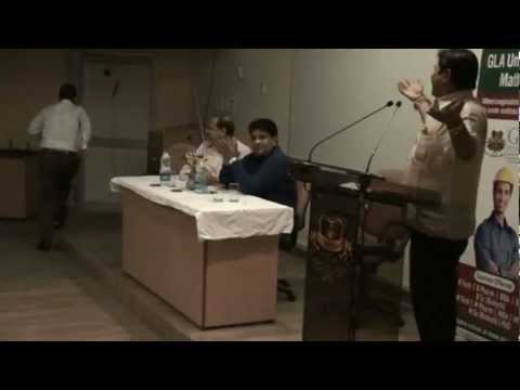 Kavya Path By Dr. Sunil Jogi At Gla University.mpg video