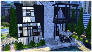 The Sims 4: Speed Build // PENTHOUSE + CC LINKS