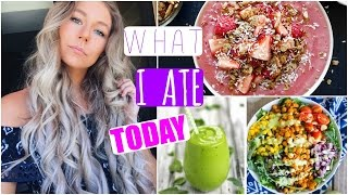 What I Ate Today + Outfit & Hair!