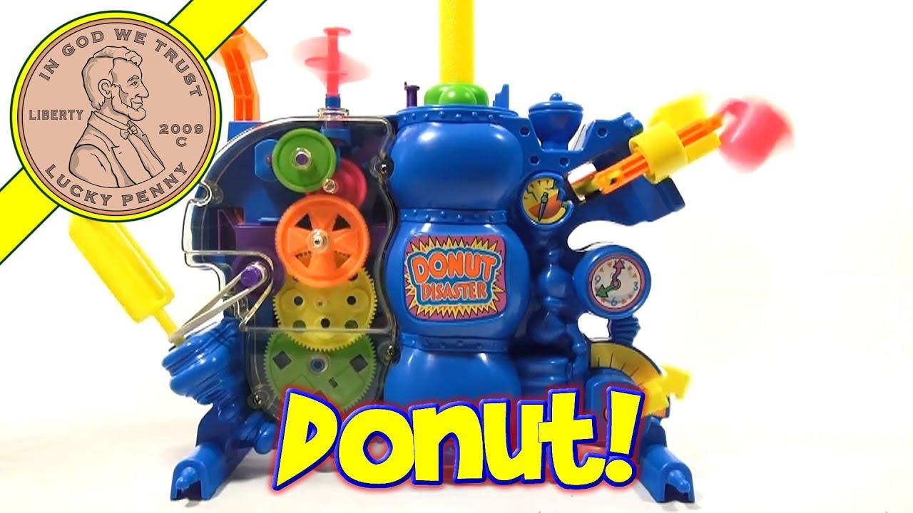 Donut Disaster Game 1992
