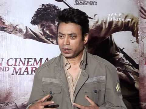 Irrfan Khan speaks on his film 'Paan Singh Tomar'