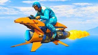 NEW $8,000,000 FLYING JET BIKE! (GTA 5 DLC)