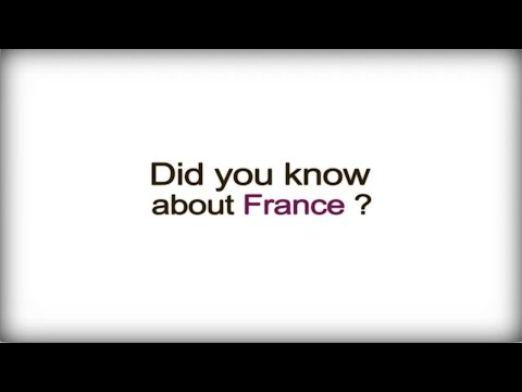 France Did you know? - France - French Business Culture video
